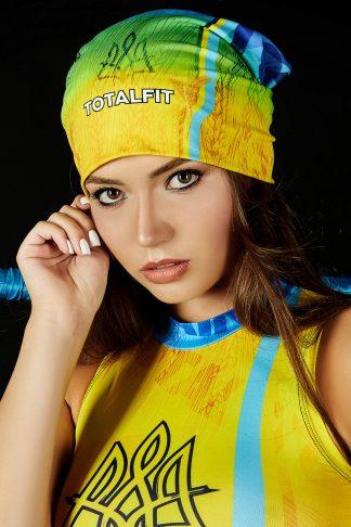 Шапка TOTALFIT Ukraine HD1-P107