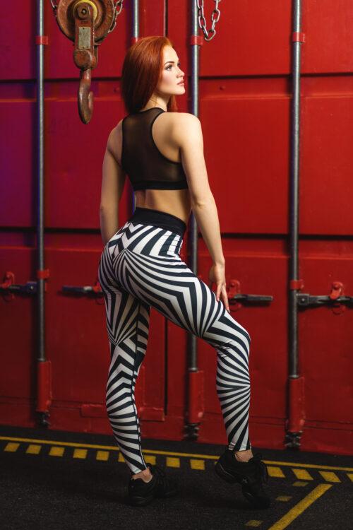 Леггинсы для фитнеса totalfit