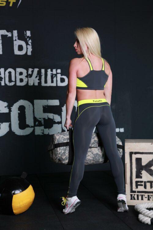 Женский спортивный топик TD25