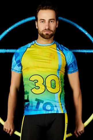 Чоловіча футболка TOTALFIT Ukraine RMS3-P107