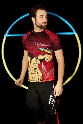 Чоловіча футболка TOTALFIT Ukraine RMS3-P106