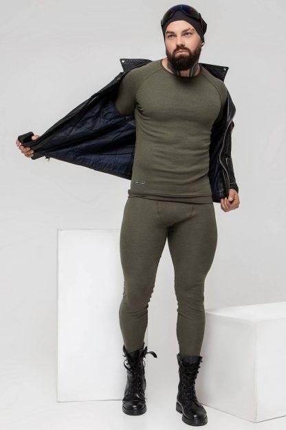 Супертеплая мужская термофутболка Totalfit ARTICA TMR1-VH36