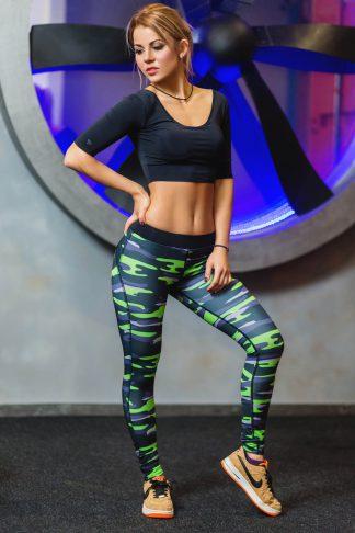 женские лосины для фитнеса тоталфит