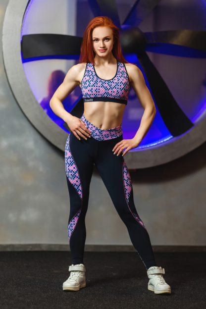 Лосины для фитнеса женские Тоталфит