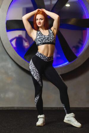 Лосины женские для спорта и фитнеса Totalfit