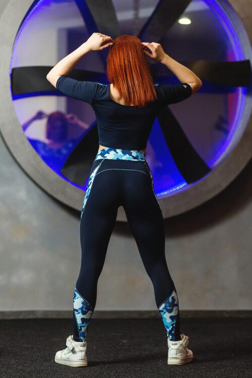 Женские леггинсы для фитнеса Тоталфит