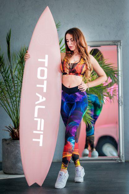 Спортивные лосины леггинсы для фитнеса женские тоталфит