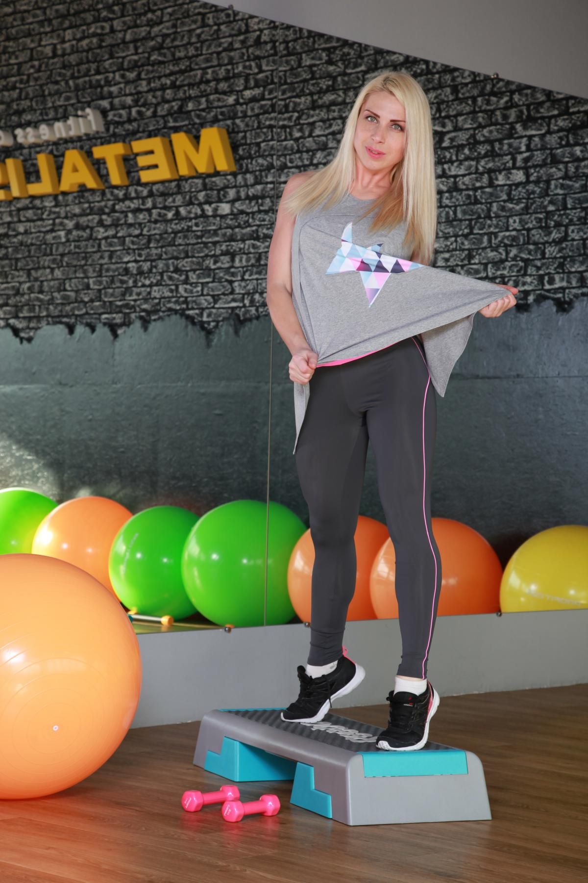 Женская майка для фитнеса M32-P26 | Интернет магазин ... - photo#48