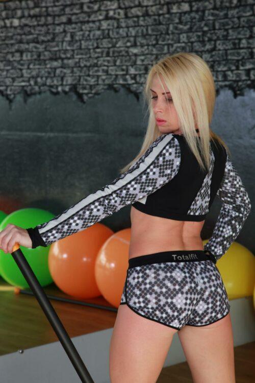 Спортивные женские шорты H-11