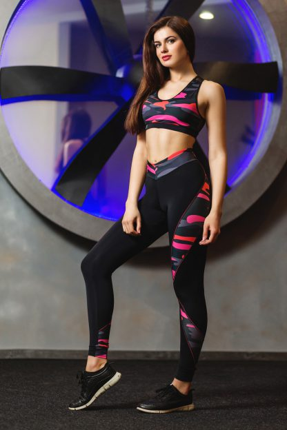 Спортивные женские лосины для фитнеса Totalfit