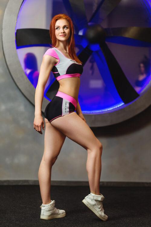 Женские спортивные шорты для фитнеса P-7