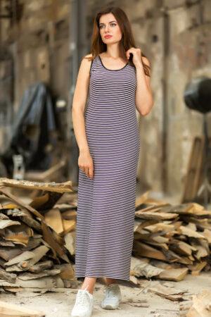 Платье длинное полосатое Totalfit