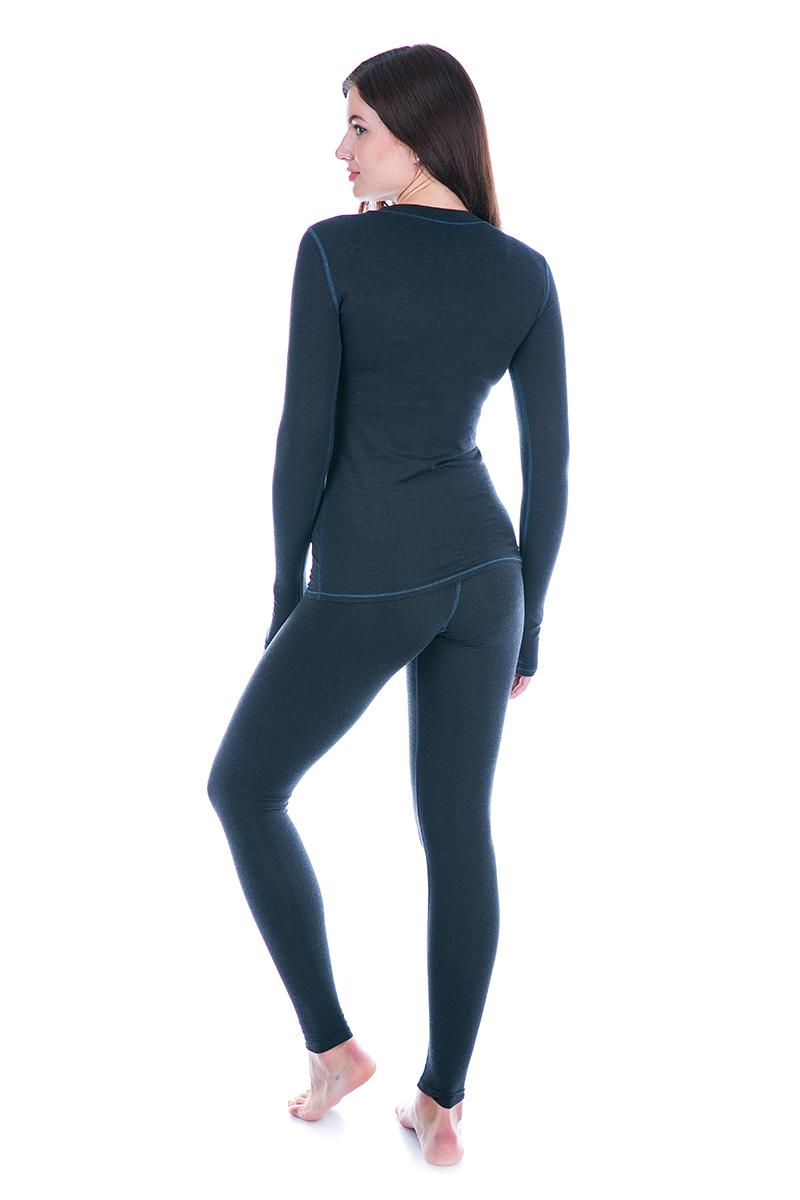 Жіночі Термолосины Totalfit TWS1 L Темно-синій