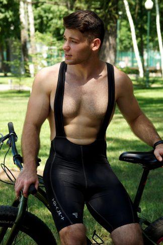 Велошорты мужские с лямками TOTALFIT VFG1-Y79