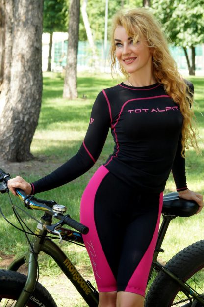 Шорты велосипедные женские Totalfit VW1-C10/3