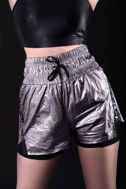 Двойные шорты с карманом HW9-C21