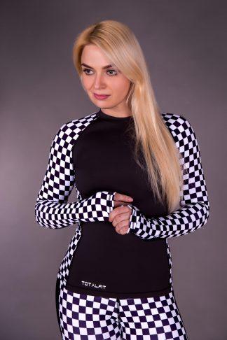 Рашгард женский Totalfit RW1-P58
