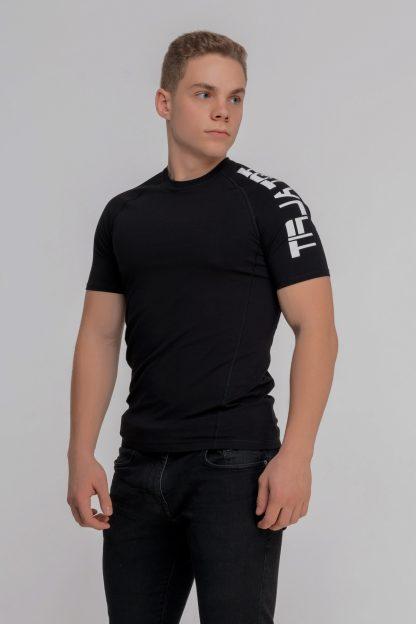 Рашгард мужской с коротким рукавом Totalfit RMSK4-C10