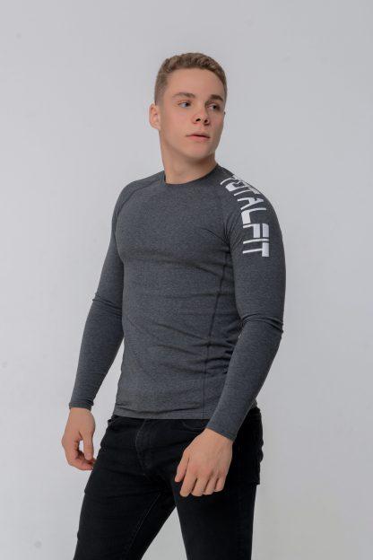 Рашгард мужской с длинным рукавом Totalfit RMK4-C9