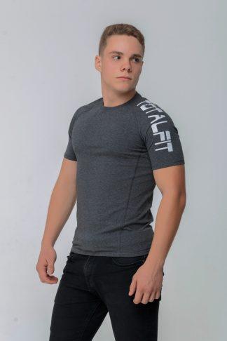 Рашгард мужской с коротким рукавом Totalfit RMSK4-C9