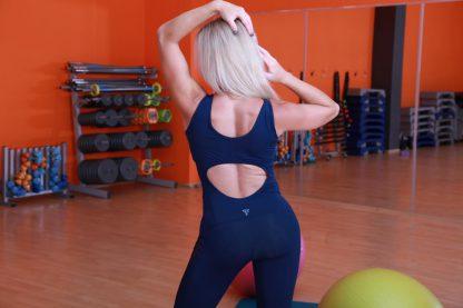 Комбинезон для фитнеса с сеткой TotalFit