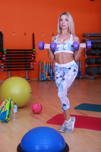 Спортивные женские бриджи для кроссфита TotalFit
