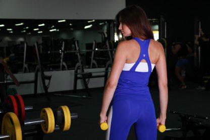 Спортивная майка для фитнеса женская TotalFit jam-shirt