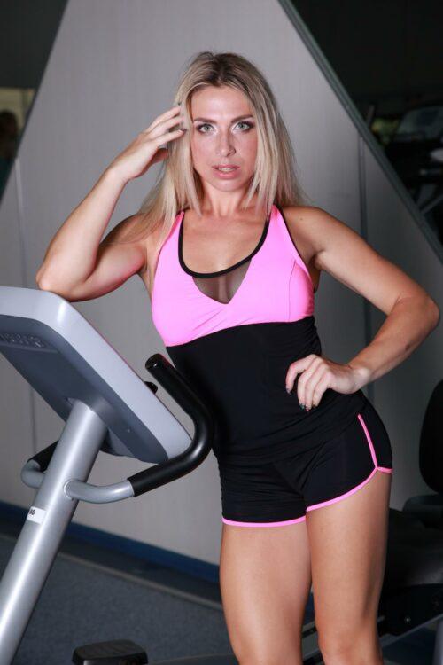 Спортивная майка TotalFit mix-shirt