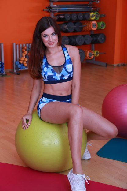Модный женский топ для фитнеса TotalFit