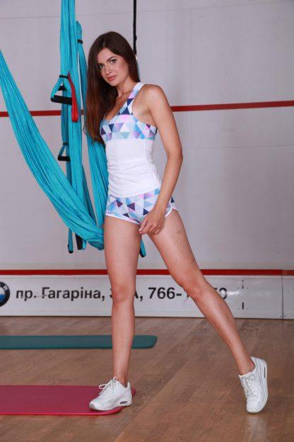 Cпортивные шорты женские TotalFit mosaic-shorts