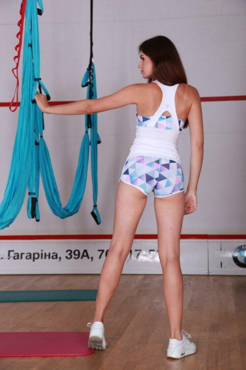 Cпортивные шорты женские mosaic-shorts