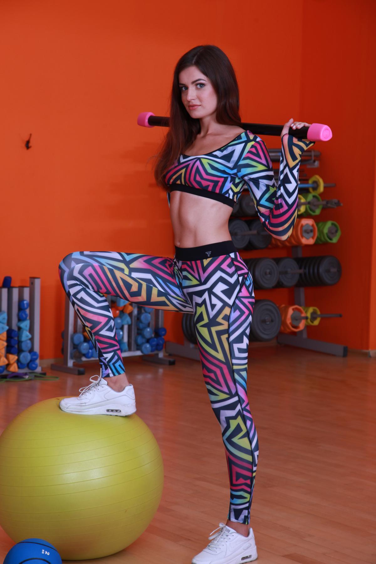 Спортивные лосины для фитнеса maze-star-slim