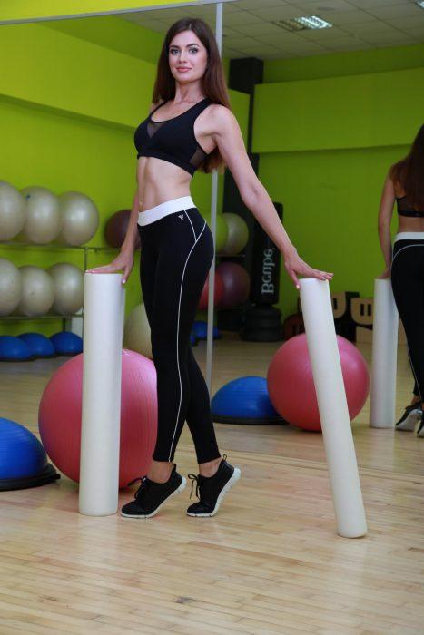 Классические лосины, леггинсы для занятия фитнесом TotalFit star-slim